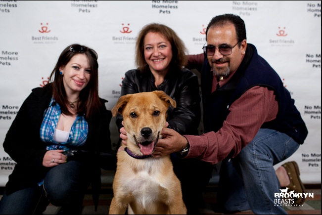 Jessica, Gail, Joe, and Duncan on adoption day