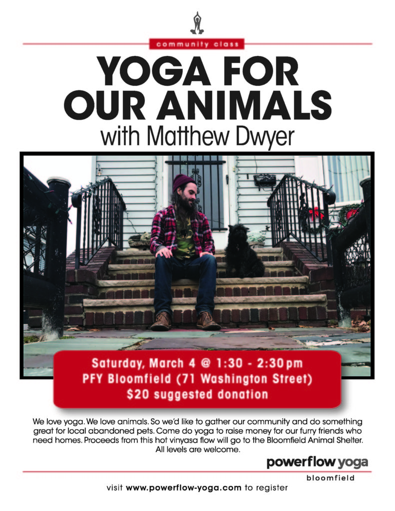 PFY YOGA FOR ANIMALS FLYER